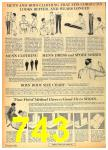 1962 Sears Fall Winter Catalog, Page 743