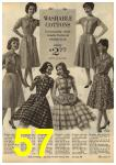 1961 Sears Spring Summer Catalog, Page 57