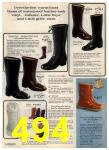 1972 Sears Fall Winter Catalog, Page 494