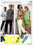 1969 Sears Spring Summer Catalog, Page 209