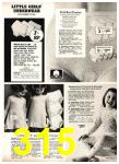 1975 Sears Fall Winter Catalog, Page 315
