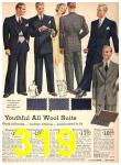 1942 Sears Spring Summer Catalog, Page 319