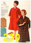 1960 Sears Fall Winter Catalog, Page 230