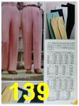 1985 Sears Spring Summer Catalog, Page 139