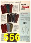1962 Sears Fall Winter Catalog, Page 556