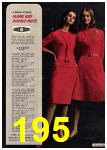 1965 Sears Fall Winter Catalog, Page 195