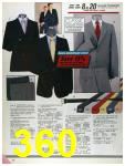 1986 Sears Fall Winter Catalog, Page 360