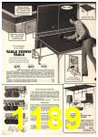 1974 Sears Fall Winter Catalog, Page 1189