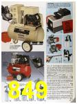 1985 Sears Fall Winter Catalog, Page 849