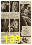 1968 Sears Fall Winter Catalog, Page 139