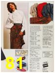 1987 Sears Fall Winter Catalog, Page 81