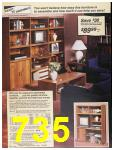 1987 Sears Spring Summer Catalog, Page 735