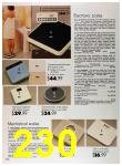 1989 Sears Home Annual Catalog, Page 230
