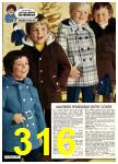 1976 Sears Fall Winter Catalog, Page 316