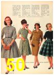 1962 Sears Fall Winter Catalog, Page 50