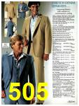 1981 Sears Spring Summer Catalog, Page 505