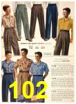 1949 Sears Spring Summer Catalog, Page 102