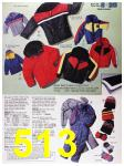 1988 Sears Fall Winter Catalog, Page 513