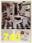 1987 Sears Spring Summer Catalog, Page 740