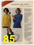 1972 Sears Fall Winter Catalog, Page 85