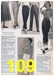 1957 Sears Spring Summer Catalog, Page 109