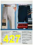 1986 Sears Spring Summer Catalog, Page 427