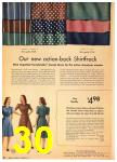 1942 Sears Spring Summer Catalog, Page 30