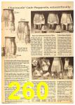1962 Sears Fall Winter Catalog, Page 260