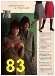 1965 Sears Fall Winter Catalog, Page 83