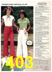 1977 Sears Spring Summer Catalog, Page 403