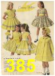 1960 Sears Spring Summer Catalog, Page 385