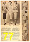 1958 Sears Spring Summer Catalog, Page 77