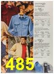 1987 Sears Fall Winter Catalog, Page 485