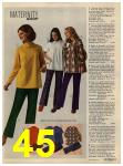 1972 Sears Fall Winter Catalog, Page 45