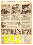 1958 Sears Fall Winter Catalog, Page 982