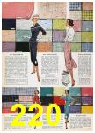 1957 Sears Spring Summer Catalog, Page 220