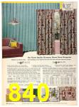 1958 Sears Fall Winter Catalog, Page 840
