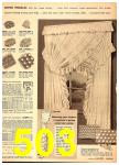 1949 Sears Spring Summer Catalog, Page 503