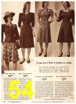 1942 Sears Spring Summer Catalog, Page 54