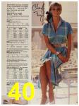 1987 Sears Spring Summer Catalog, Page 40