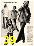 1973 Sears Fall Winter Catalog, Page 39