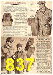 1963 Sears Fall Winter Catalog, Page 837