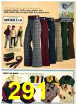 1973 Sears Fall Winter Catalog, Page 291