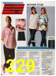 1986 Sears Spring Summer Catalog, Page 229
