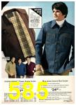 1975 Sears Fall Winter Catalog, Page 585