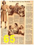 1940 Sears Fall Winter Catalog, Page 65