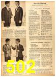 1958 Sears Fall Winter Catalog, Page 502