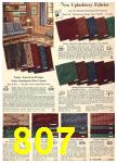 1940 Sears Fall Winter Catalog, Page 807