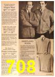 1963 Sears Fall Winter Catalog, Page 708