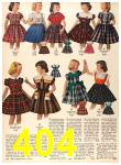 1956 Sears Fall Winter Catalog, Page 404